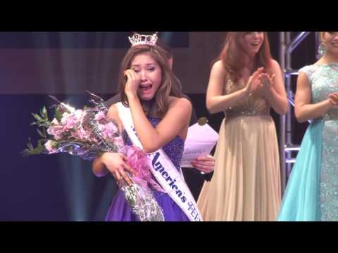 Crowning Moment of Miss America's Outstanding Teen 2017, Nicole Jia