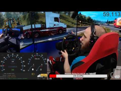 Euro Truck Simulator 2 Glasgow to Turku/ 1700miles in Scania T