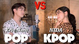 Download POP vs KPOP 대결 (SING OFF vs. 에릭남) | BTS, 레드벨벳, Dance Monkey, Ed Sheeran | Mashup