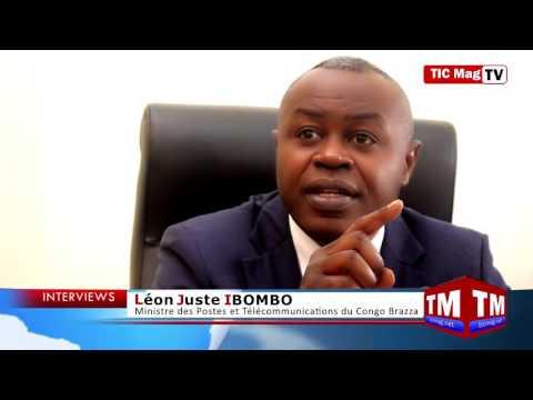 Léon Juste Ibombo : « Il faut que la majorité de Congolais soit connectée à la fibre optique »