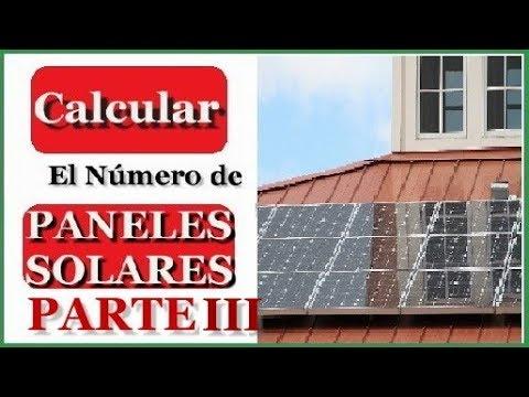 Como calcular el n mero de paneles solares para una casa parte iii youtube - Paneles solares para abastecer una casa ...