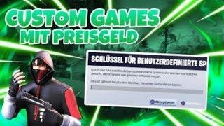 Custom Games Fortnite |Fortnite Custom Games Live!|Solo/Duo/Squad|Deutsch|Livestream