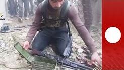 Syria mobile footage shows shocking extent of civil war violence