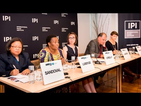 States and Civil Societies Advancing Women, Peace, and Security