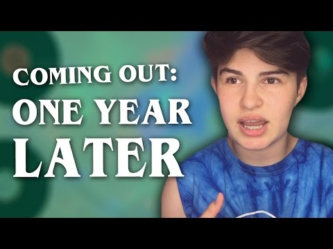 Coming Out: One Year Later (FTM Transgender)