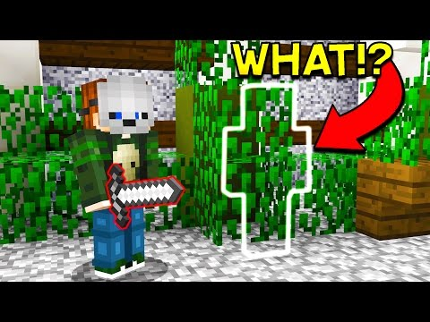 100% INVISIBLE MINECRAFT HIDING SPOT! (Murder Mystery)