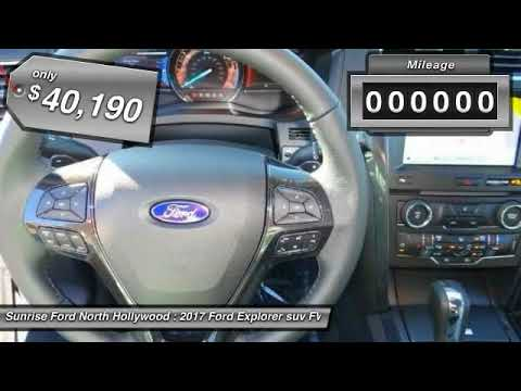 2017 Ford Explorer North Hollywood,Los Angeles,San Fernando Valley,Glendale,Burbank M73677