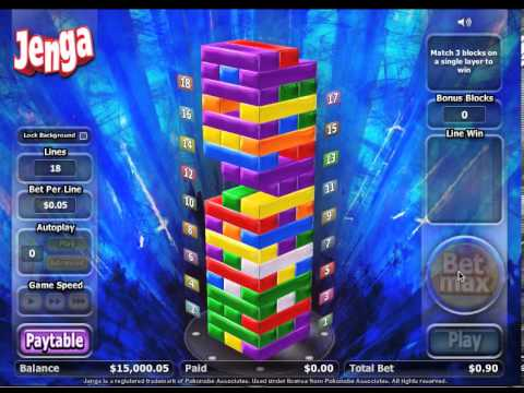 Jenga Slot- Cryptologic
