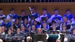 Երևանում տեղի ունեցած Սուրբ Զատկի տոնին նվիրված ռուս հայկական երգչախմբային առաջին կոնգրեսի համերգը