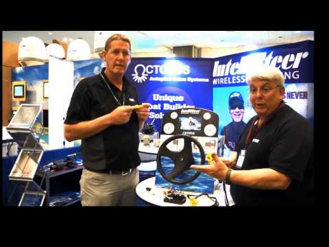 Intellisteer Remote Steering by Octopus - at Miami International Boat Show 2015