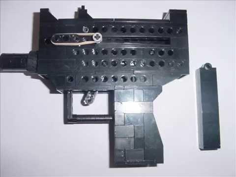 how to build a small lego gun