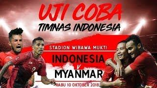LIVE: Indonesia vs Myanmar - Friendly Match