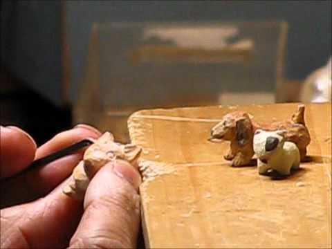 Brand new making miniature wood carving No12 - YouTube QY16
