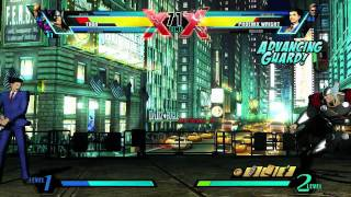 UMVC3 Nova VS Phoenix Wright - Gameplay video