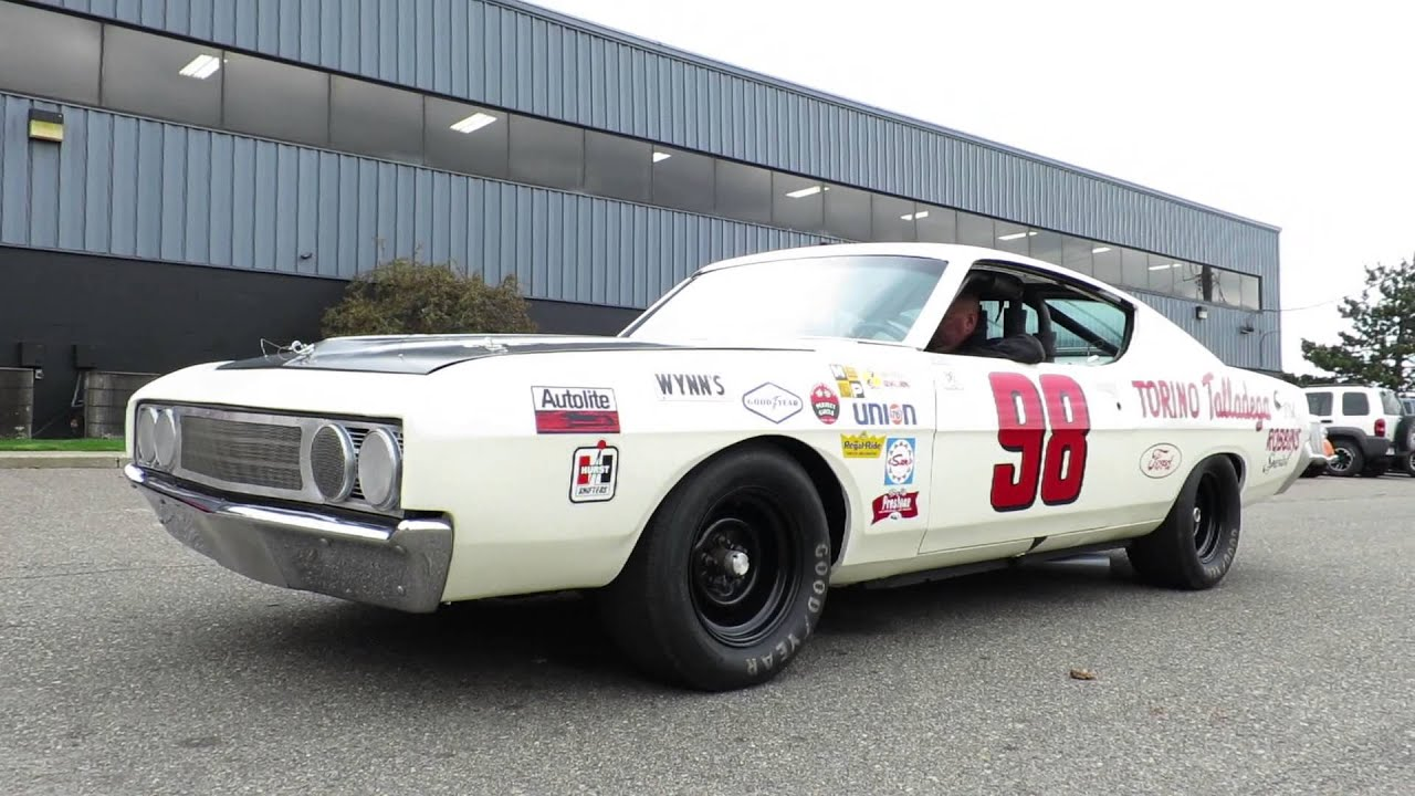 Ford Torino Talladega Boss 429 Nascar Youtube