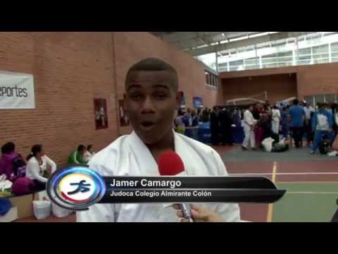 Jámer Camargo, una promesa en el judo
