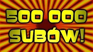 500 000 SUBÓW! Aż klapę wyebało z SZAMBA! + SRESPACITO LIVE:) [ChwytakTV]