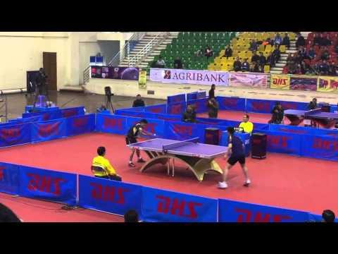 Giải bóng bàn Viet Nam Open 2014- Lê Tiến Đạt & Nguyễn Hoàng Chung