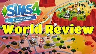 The Sims 4 StrangerVille | World Review Town Tour | Early Access thumbnail