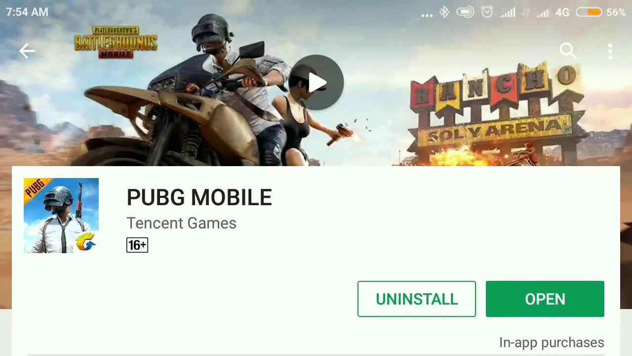 pubg mobile tencent update size