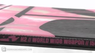 2010 K2 WWW Rocker Snowboard Review