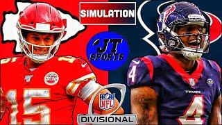 Kansas City Chiefs vs Houston Texans Divisional Round Madden NFL 20 Simulation | NFL