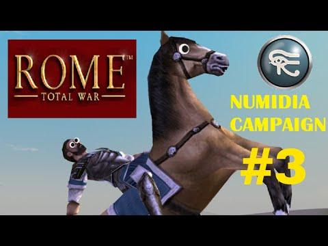 Rome Total War - Numidia Campaign Episode #3: The Invasion of Iberia!
