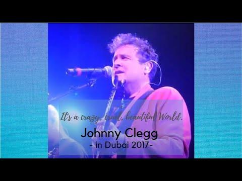 Johnny Clegg performed in Dubai #Opera 2017 #singer