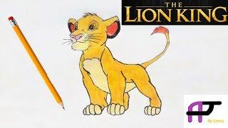 The Lion King Disney&#39s Simba  Quick Draw