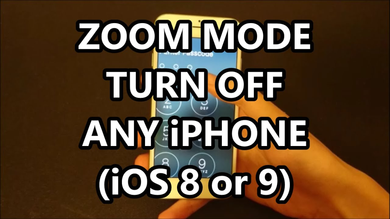 Iphone wallpaper zoom ios 9 - Zoom Mode Iphone 5s 6 6s Ios 9 How To Turn Off And Zoom Out