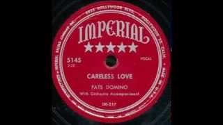 Fats Domino - Careless Love - September 1950