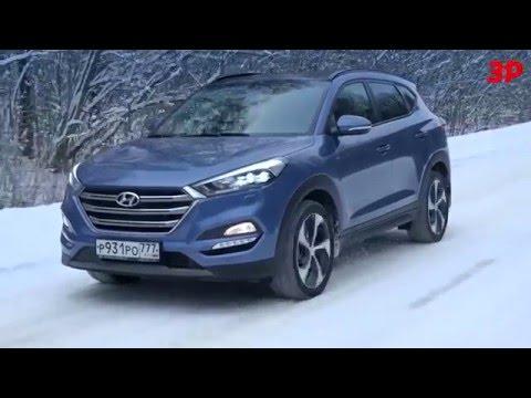 Новый Hyundai Tucson против Mazda CX 5, Toyota RAV4 и Ford Kuga
