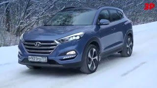 Новый Hyundai Tucson против Mazda CX-5, Toyota RAV4 и Ford Kuga