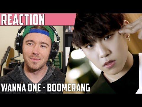 Wanna One(워너원) - Boomerang(부메랑) MV Reaction