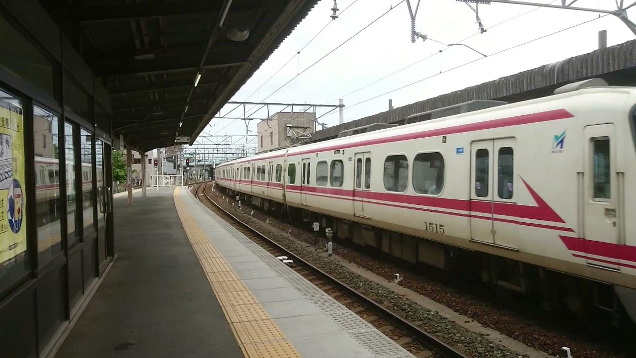 名鉄ミュージックホーン1515F大江通過フル