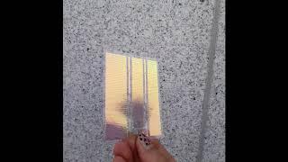 [미소예] 카멜레온 라인 퍼플 컬러변화