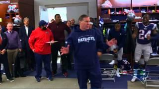 New England Patriots Post Game Locker Room Speech vs. Denver 11/2/14