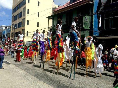 Ole Mas On Carnival Friday   Trinidad & Tobago Carnival 2018   Vlog 50  