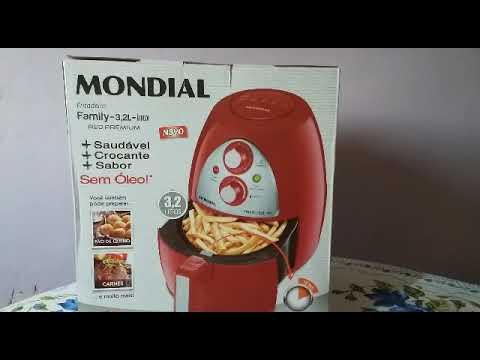 Unboxing Fritadeira Airfryer Mondial,será que vale a pena ?