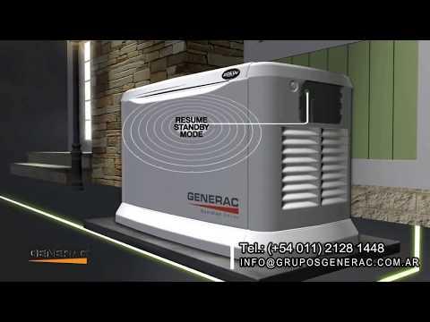 Generadores eléctricos a gas Generac  – Como Funcionan