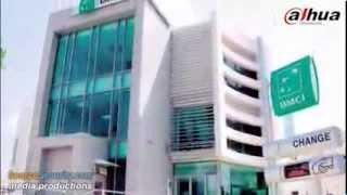 Dahua 3 MP & 2 MP HD Network Cameras Secures BMCI Bank in Morocco