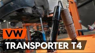 Как се сменя Амортисьори на VW TRANSPORTER IV Bus (70XB, 70XC, 7DB, 7DW) - видео ръководство