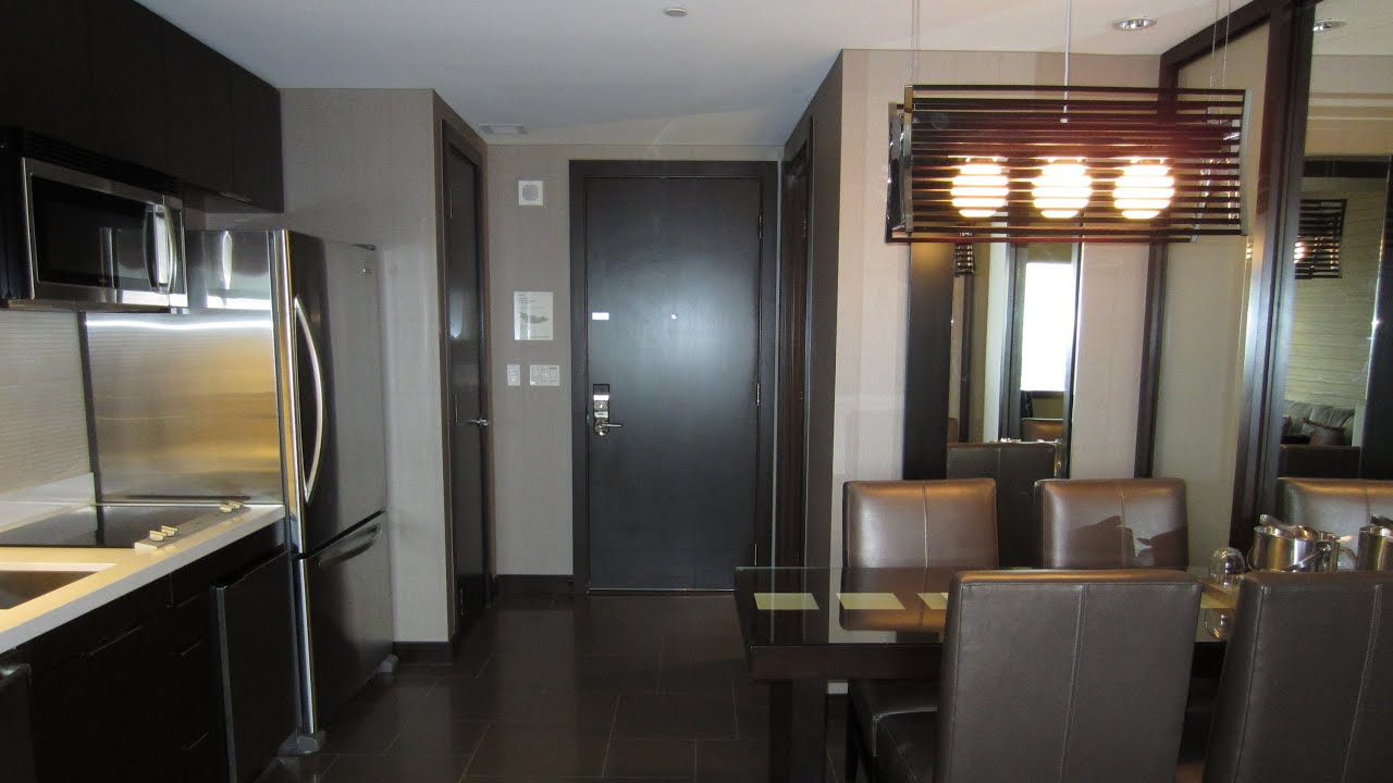 Vegas Hotel With Kitchen In Room