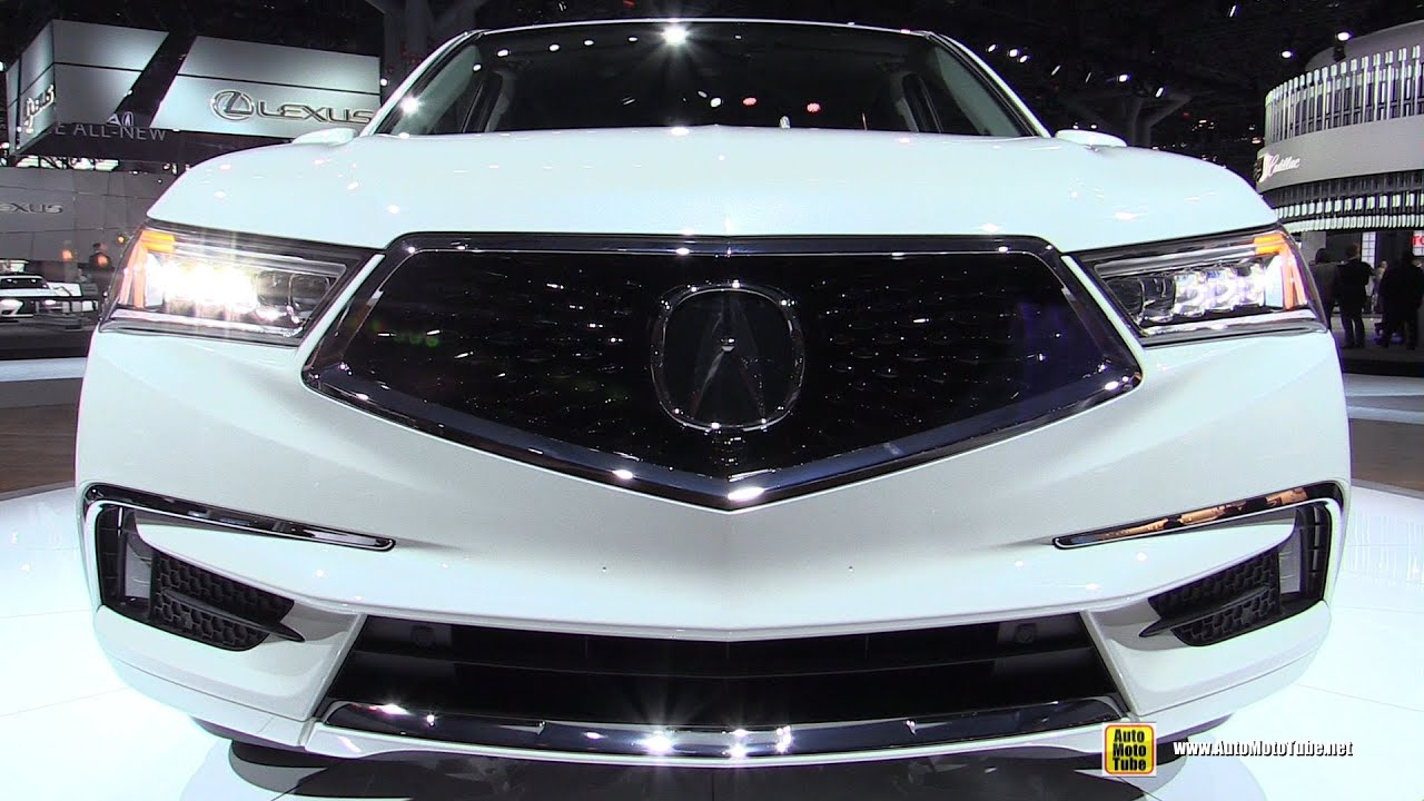 2017 Acura Mdx Hybrid Exterior And Interior Walkaround Debut At 2016 New York Auto Show