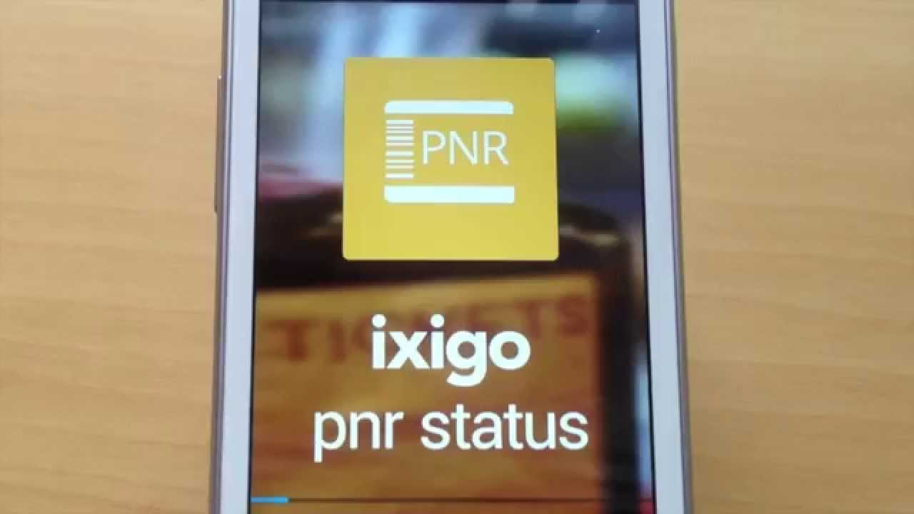 ixigo pnr status app demo - check irctc & flight pnr status