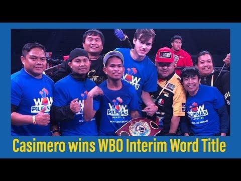 John Riel Casimero BRUTAL KO of Ricardo Espinoza Franco (VIDEO)