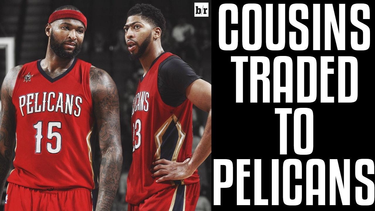 hot sale online 279af b0335 DEMARCUS COUSINS TRADED TO PELICANS!! CRAZY TRADE!! WHAT ARE THE KINGS  DOING??