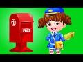 Dress Up Like A Postwoman | Baby Hazel Dress Up Games | Girls Makeover Games