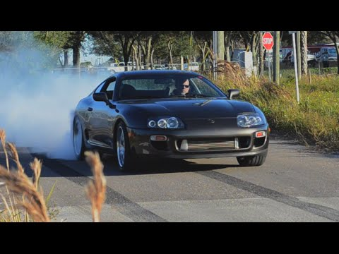 1400HP Real Street Supra Turbo Comparison