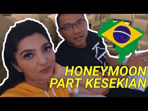 BUKANNYA HOT, LAGI HONEYMOON ANANG-ASHANTY MALAH KEDINGINAN #BRAZILPART1